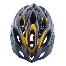 Cycling Helmet  Adjustable Bicycle Bike Road Mountain Safety Unisex Shockproof ultralight with Visor Red/Yellow/Blue
