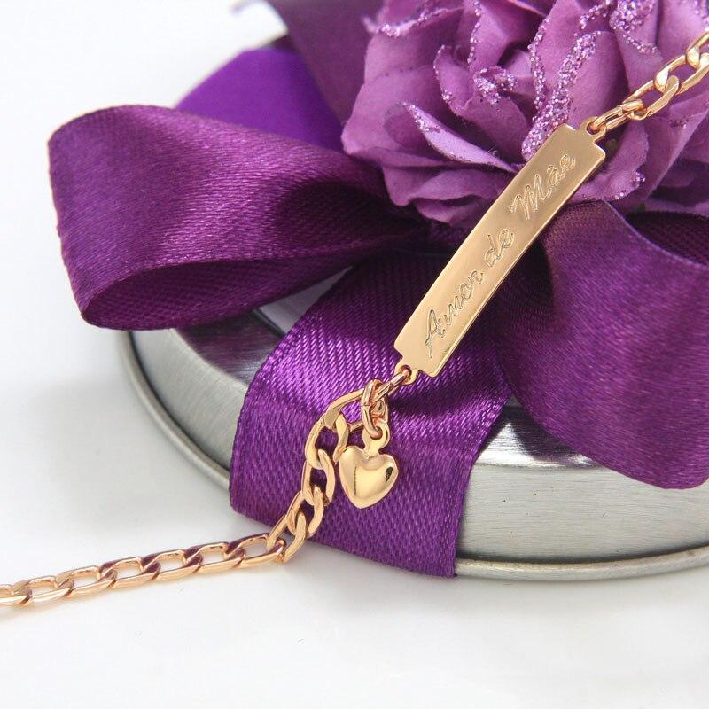 BR18-39_09a Amor de Mae kids jewelry baby bracelet gold bebe pulsera armband