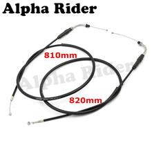 810MM/820MM Motorcycle Throttle Oil Cables Line Wire Accelerator Cable Double Pieces for Harley Davidson Sportster XL 883 1200