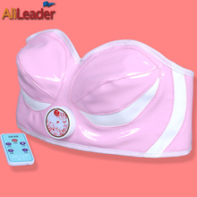 Hot Sale Healthy Care Breast Massage Bra Pink Breasts Firming Machine Women'S Vibrating Bra Electric Breast Enlargement Massager(China)