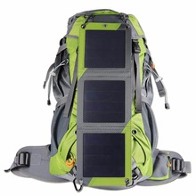 Factory Direct Outdoor Solar Energy Backpack Waterproof Mountaineering Bag Travel Sports Bag Can Be Customized