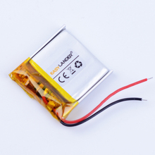 402020 3.7V 120mAh Rechargeable li Polymer Li-ion Battery For mp3 Bluetooth headset speaker DVR small  toys smart watch 042020
