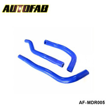 AUTOFAB-turbo intercooler radiator pipping silicone hose Kit For Mazda M6 02-07 (3pcs) AF-MDR005