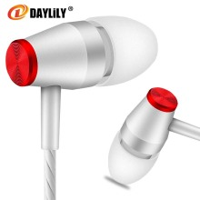 Daylily headphones Moving Sport fone de ouvido phone Small fresh headset music auriculares fashion MP3 Computer Earphons travel(China)