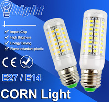 Corn LED lamp E27 Led E14 SMD 5730 Corn Bulb 220V 240V Lamparas Led E27 Chandelier LEDs Candle light Spotlight Lampara Bombillas