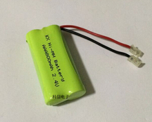 10PACK/LOT Brand New Ni-MH AAA 2.4V 800mAh Ni MH Battery Rechargeable Batteries Pack With Plugs For Cordless Phone