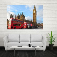 Nice New UK England London PhonePoster Custom Canvas Poster Art Home Decoration Cloth Fabric Wall Poster Print Silk Fabric Print