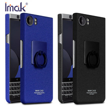 Original Imak Cover for BlackBerry KEYone Case 4.5 inch Hard PC Matte Phone Case for BlackBerry Mercury Cover + Ring Holder(China)
