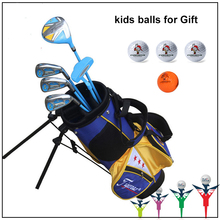 Kids Golf Club Children Left Handed Golf Clubs Half Set 5-pieces Junior Boys Girls Child Golf Clubs Set with Bag(China)