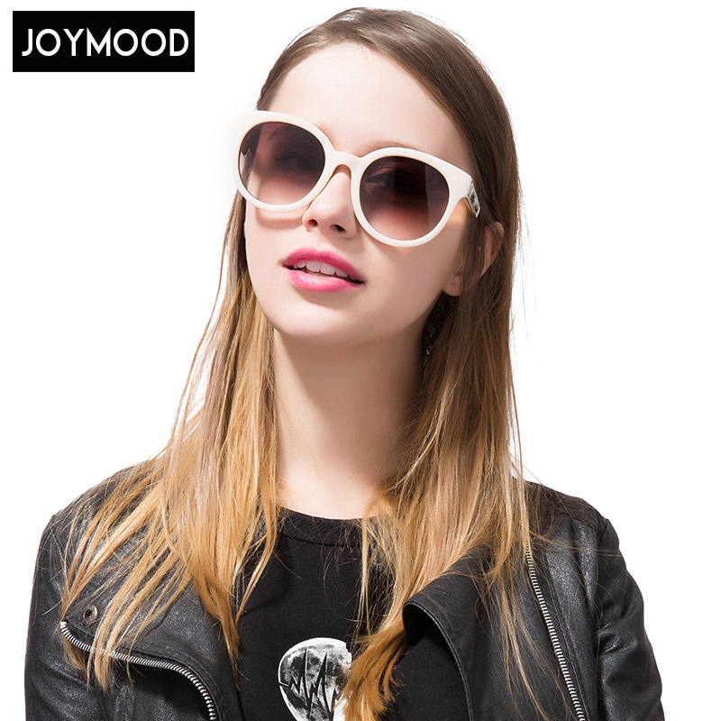 JOYMOOD 2017 Mew Women Sunglasses Oval Alloy Polycarbonate Sun Sunglass Oculos De Sol Occhiali Da Sole Donna Sunglass Women<br><br>Aliexpress