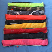 Free shipping SOLAS approved new manual inflatable waistband marine life jacket PFD for 100N EN396 certified(China)