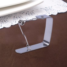 10pcs/lot Table Cover Cloth Clamp Stainless Steel Tablecloth Clip Clamp Holder For Party Wedding Banquet