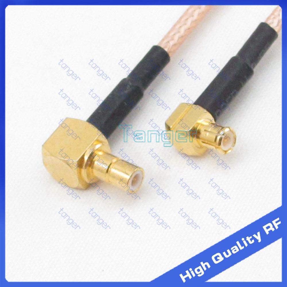 SMB male plug right angle to MCX male plug right angle with 20cm 8inch RF RG316 RF Coaxial Pigtail Low Loss cable High Quality<br><br>Aliexpress