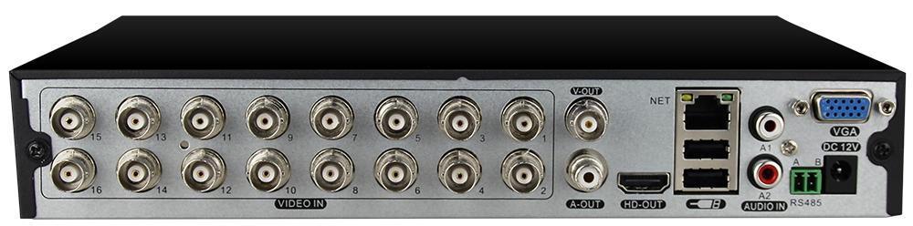 16CH AHD CCTV DVR 8CH ONVIF ip camera recorder H.264 4CH AHD DVR for AHD-H CVI TVI camera Network Hybrid XVR 1080P cctv recorder