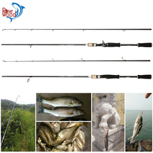 Best Spinning Rods 2.1m M Power 7' Carbon Fiber Casting Fishing Rod Lure Carp EVA Handle Molinete Para Pesca 2 Sections Pole(China)