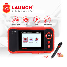 Launch CRP123 OBD2 Code Reader Update Online LAUNCH X431 Creader CRP 123 ABS, SRS, Transmission,Engine Code Scanner creader vii+(China)