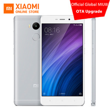 Original Xiaomi Redmi 4 pro Mobile Phone 3GB RAM 32GB ROM Snapdragon 625 Octa Core CPU 5 inch 13.0mp Fingerprint MIUI 8.1(China)