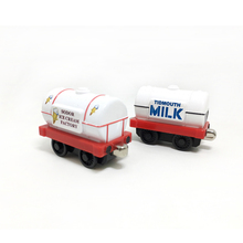 T0150 Diecast Metal magnetic Thomas and friends children kids Magnetic toy milk and sodor ice cream factory tank truck(China)