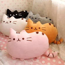 40*30cm plush toy stuffed animal doll,talking anime toy pusheen cat or pusheen skin for girl kid kawaii,cute cushion brinquedos(China)