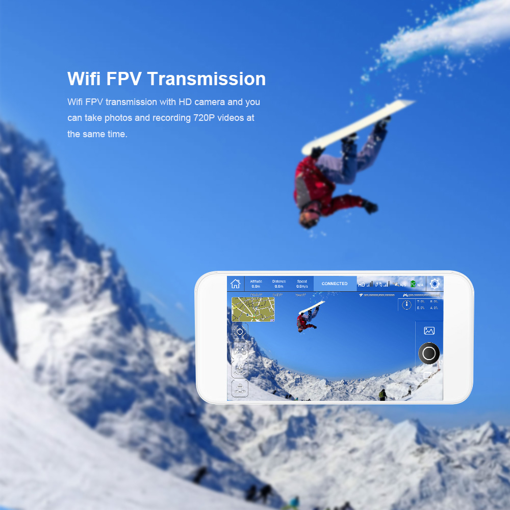 Hubsan X4 H507A Star Pro 720P Camera Drone Wifi FPV RC Quadcopter Follow Me Mode Way Point GPS One-Key Return RC Selfie Drone (18)