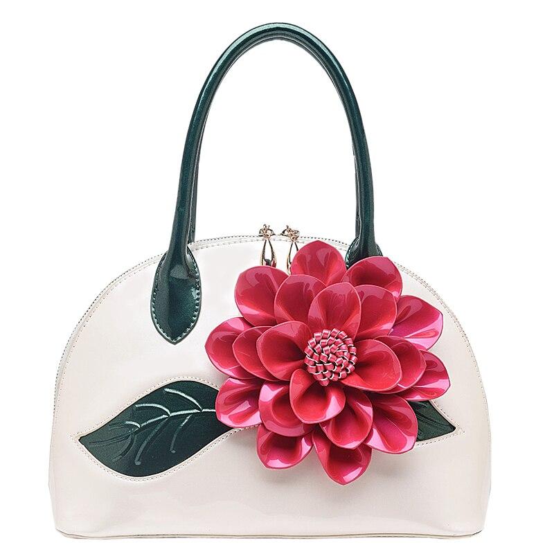 Womens handbag 2016 small handbag cross-body bag fashion sweet flower one shoulder cross-body bag shell<br><br>Aliexpress