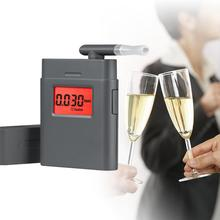 mini portable digital personal breathalyzer/breathalyzer alcohol tester display with 360 degree rotating mouthpiece pft 838(China)