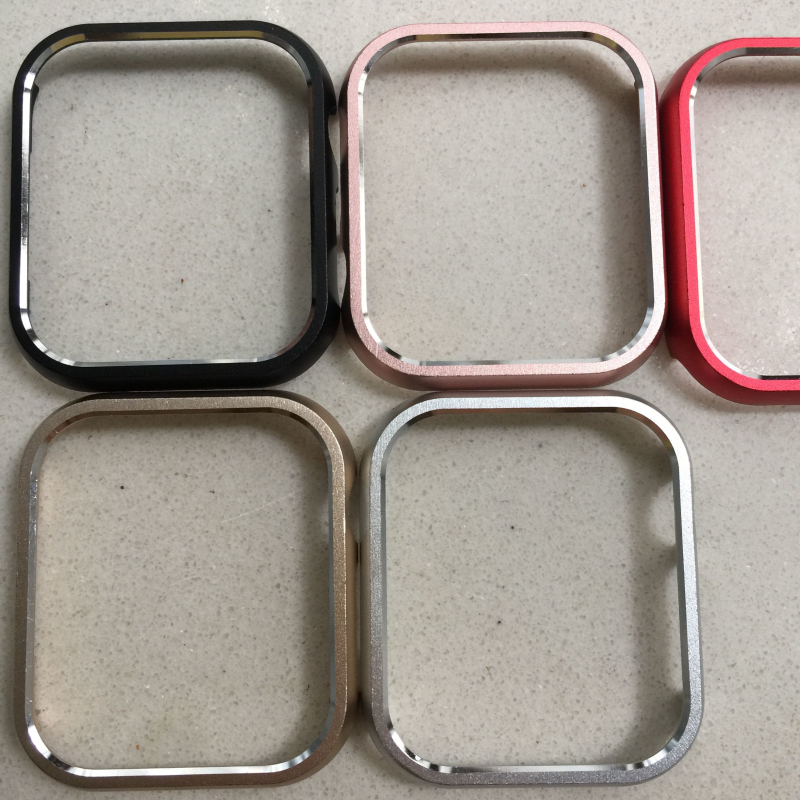 Case Cover For Apple Watch 40Mm 44Mm Series 4 Frame Metal Alloy Protective Aluminum Protector Shell