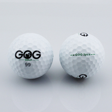 Free Shipping Hight Quility Three Piece Golf Ball Golf Game Ball Super Long Distance 10pcs/lot(China)