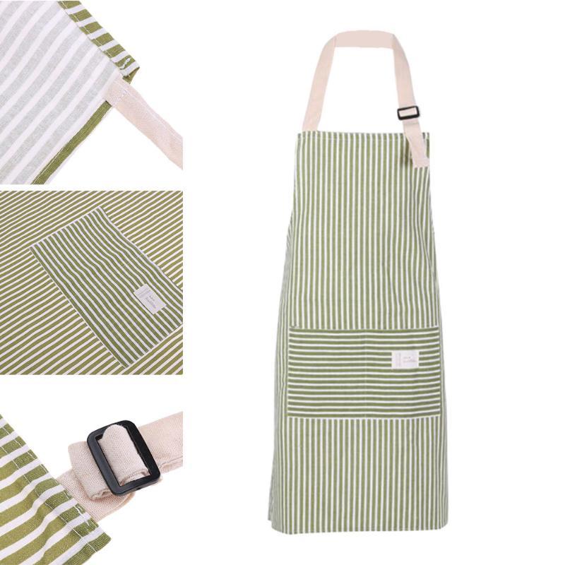 Stripe-Sleeveless-Man-Women-Apron-Anti-Dirty-Cotton-Kitchen-Adult-Dress-Kitchen-Cook-Apron-With2