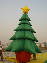 Good Quality Popular Inflatable Christmas Tree for Christmas Decoration