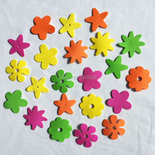 140PCS/LOT.Cheapest Mixed flower stickers,Kids toy.Scrapbooking kit.Early educational DIY.Spring crafts.kindergarten craft.Sales(China)