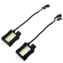 Pair of 55W Car HID Ballast Discharge Xenon Lamp Vehicle HID Headlamp High Intensity Water-resistance And Shock-resistance