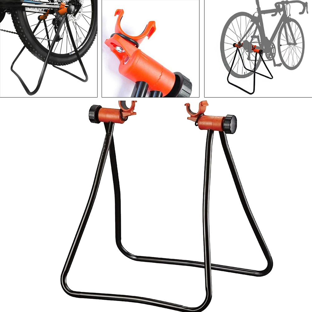 Bike Stand Bicycle Bracket Parking Repair Maintenance Floor Stand Display Rack