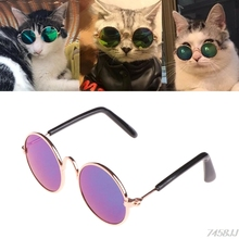 Glasses Small Pet Dogs Cat Glasses Sunglasses Eye-wear Protection Pet Cool Glasses Pet Photos Props color randomly Z03(China)