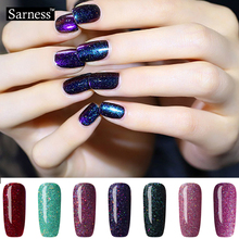 Sarness Need UV LED Lamp Lucky Color Soak Off Gel Polish Neon Color Glitter UV Nail Gel Varnish Professional Nail Art