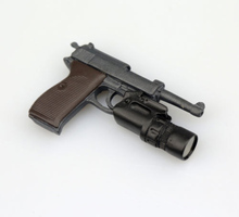 1/6 Scale WWII Walter P38 P-38 Pistol Gun Model Weapon Toy for 12 inches Soldier Figure Accessories