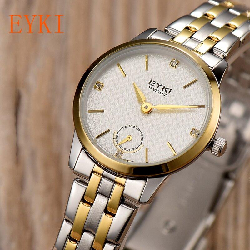 EKYI Lover Fashion Luxury Brand Men Watches Women Quartz Wristwatches Alloy Diamond Watches Reloj Mujer Marcas Famosas<br><br>Aliexpress