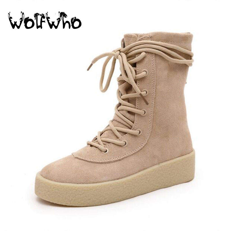 New Fashion Women Quality Flat Platform Boots Genuine Leather Martin Boots Botas Mujer Tenis Feminino Lady High Boots Creeper<br><br>Aliexpress