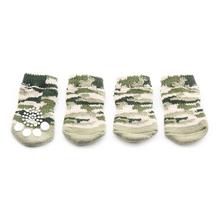 Armi store Camouflage Green Dog Sock Pet Latex Skid-Proof For Dogs  Socks 6081052 Puppy Warm Supplies