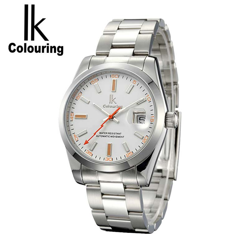 IK Casual Mens Watches Top Brand Luxury Day Watches Auto Mechanical Wristwatch with Orignial Box<br>