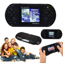 "Gasky PVT3000 16Bit Handheld Game Player Console Game 2.9"" Screen Advance Kid Black Boy Children Gift with Game Card US plug(China)"