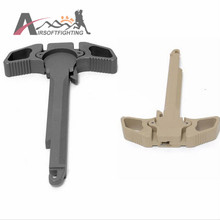 Big Dragon Butterfly style Metal Cocking Handle for M4 Series AEG New Arrival Airsoft Mounts & Accessories Black/DE