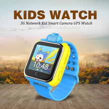 720P Remote Camera GPS LBS WIFI Location 1.54 Touch Screen Kid Child 3G Android Smart Wristwatch SOS Monitor Tracker Alarm Watch(China)