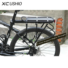 XC USHIO Mountain Bike Bicycle Cargo Racks Aluminum Bicycle Luggage Carrier MTB Bicycle Mountain Bike Road Bikes Rear Rack Black