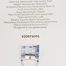 Open Toe Sensormatic Free-Motion Foot 820976096(China)