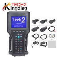 For G-M TECH2 Diagnostic tool with 6 software for G-M Tech 2 Scanner (for Opel Saab Isuzu Suzuki Holden) DHL free(China)
