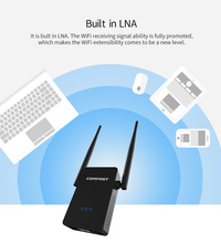 Comfast CF-WR750 V2 Wifi router 750 Mbps 802.11 AC Dual Band 2.4+5.8Ghz WIFI roteador Wifi Router wi fi signal Repeater Extender(China)