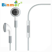 DATA Best Price New headphone Earphone In Ear With Mic for smart Phone 4S 4G 3GS 3G For iPod Touch fashion high quality feb28