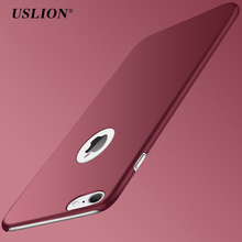 Buy USLION Ultra Thin PC Matte Case iPhone 7 Plus Simple Plain Phone Back Cover Slim Coque iPhone7 Plus Case for $1.27 in AliExpress store