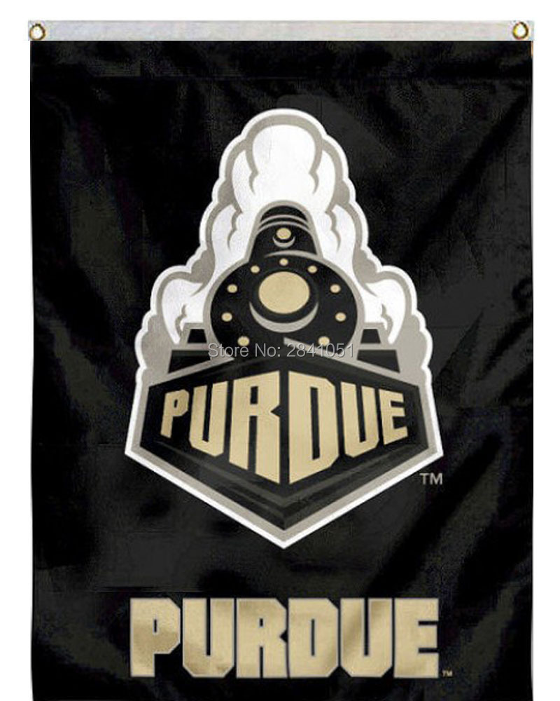 Color printing purdue - 6 Color Purdue Boilermakers Team American Outdoor Indoor Football College Flag 3x5 Custom Any Flag